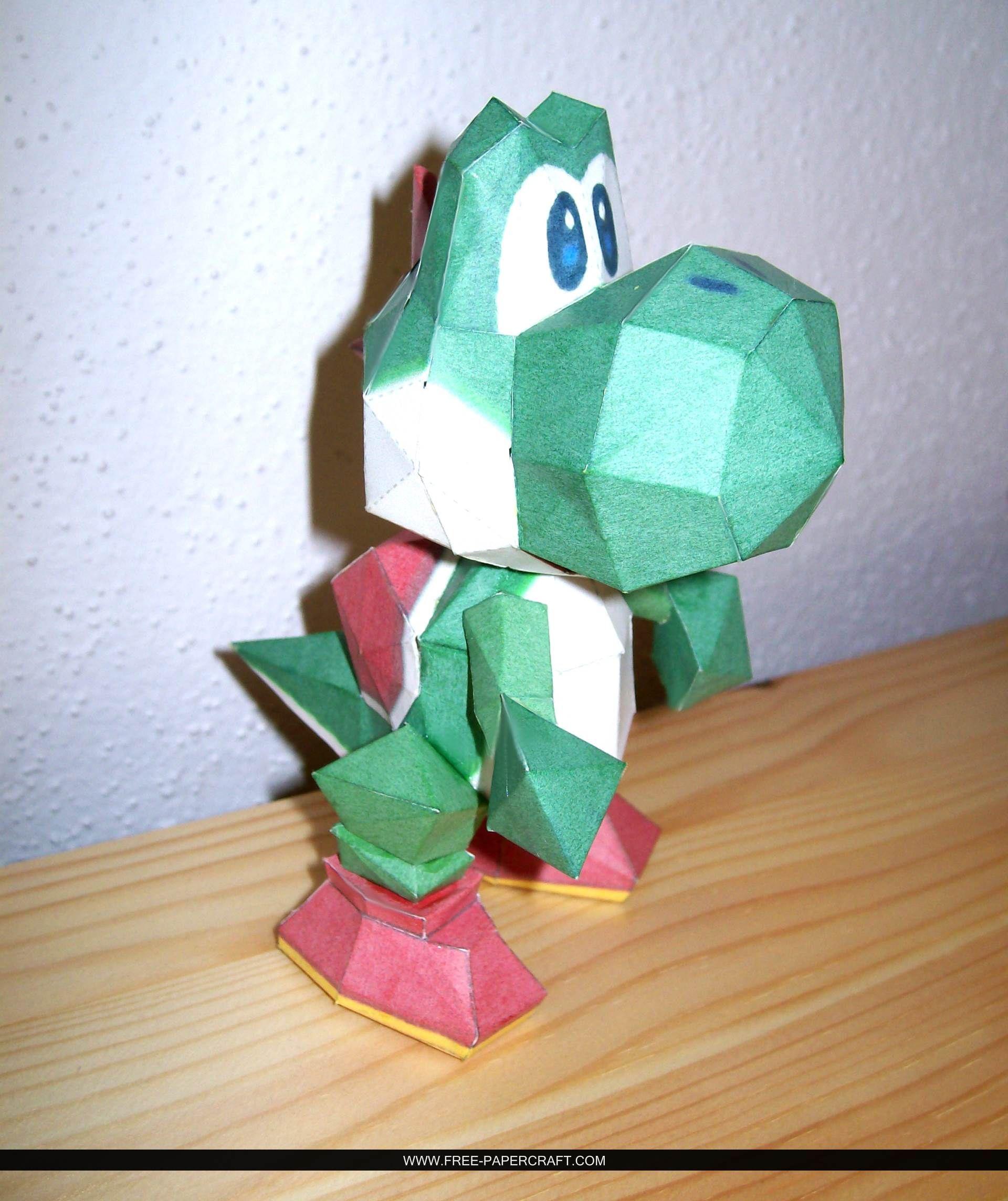 Yoshi – Super Mario 64 – Papercraft | Kids Fun Ideas ... - photo#13