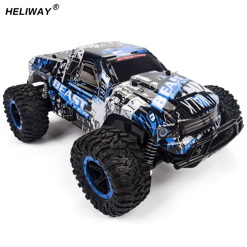 Heliway 1 16 New Rc Car High Speed Suv Rock Rover Double Motors
