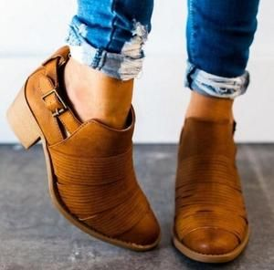 d3a29a7a3 Womens Ankle Boots Shoes Chuky Heels Bootie - ILYMIX Accessories