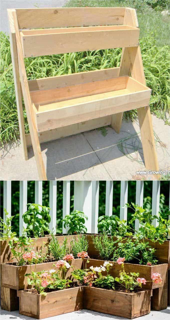 28 Amazing Diy Raised Bed Gardens Backyard Garden Design 640 x 480