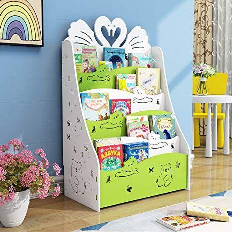 Bücherregal für Kinder Büchergestell im Kinderzimmer