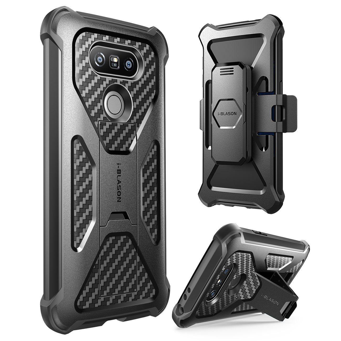 cheap for discount 5375c 97603 Amazon.com: LG G5 Case, i-Blason Prime [Kickstand] **Heavy Duty ...