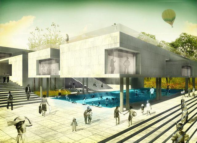 1ra Menci N De Honor Concurso Arquitect Nico Centro