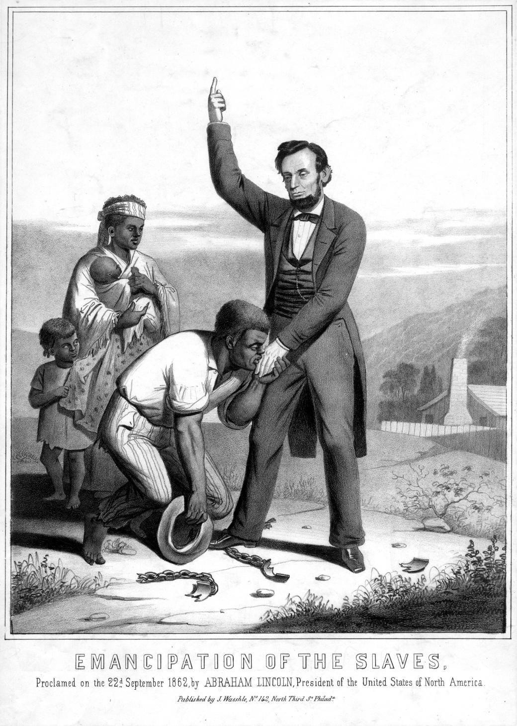 slaves around any north