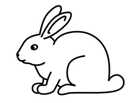 474x355 Drawing Of A Bunny Draw Bunny Ears Draw Bunny Easy ...