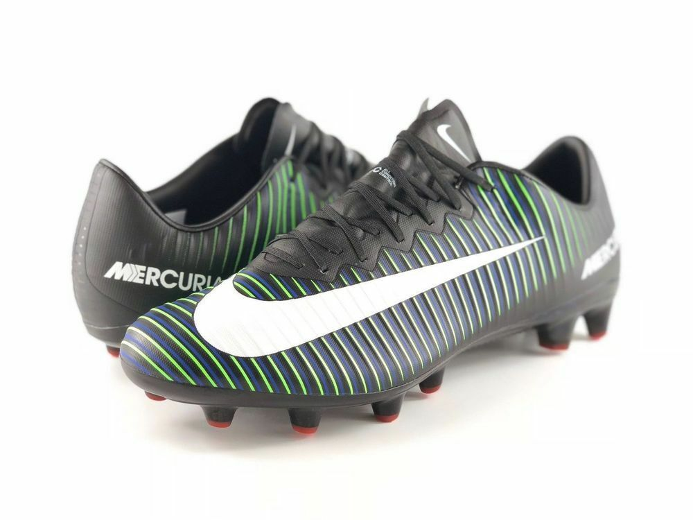 306a13e3a76 eBay  Sponsored Nike Mercurial Vapor XI AG-PRO Soccer Cleats Boots Size 6  NIB Electric Green