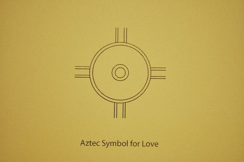 Aztec Love Symbol Tattoo In 2018 Pinterest Symbols Aztec