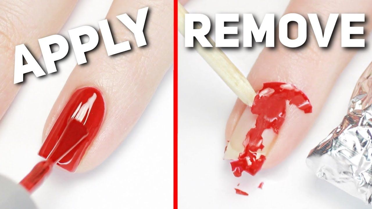 Apply Remove Gel Polish Perfectly At Home Remove Gel Polish Gel Nail Removal Simple Gel Nail Designs