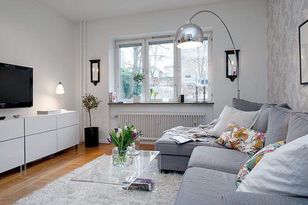 Schwedische Einrichtungsideen 17 apartamentos pequenos para você se inspirar skandinavische