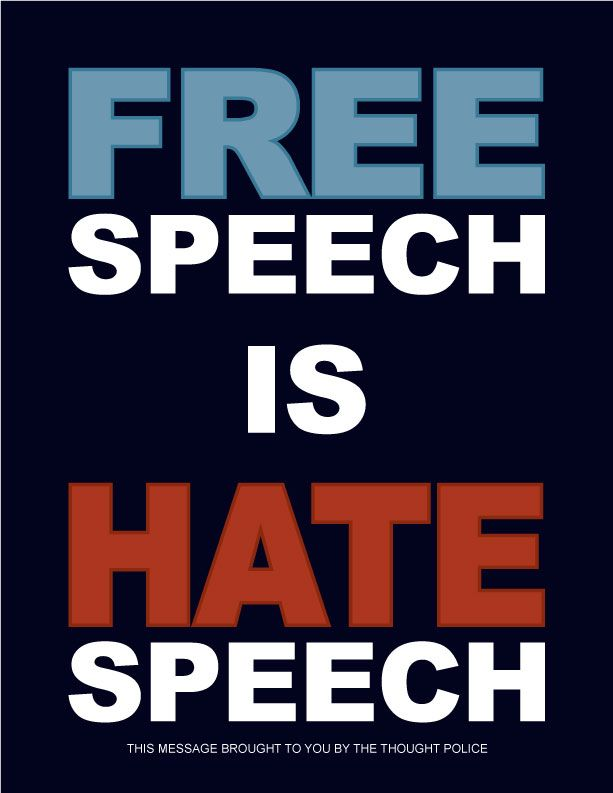 Image result for free speech is the new hate speech