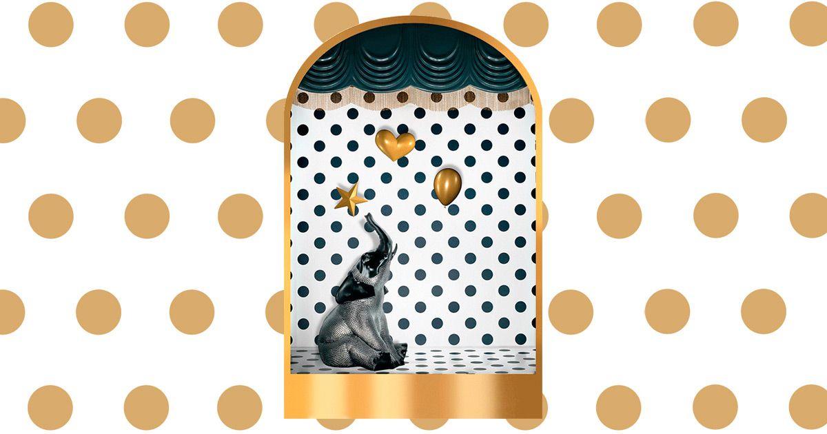 Esta Navidad vive tus propios sueños... #felicitaciones #app #loewe #cool #gold #elephant #merrychritsmas  #loeweGifts
