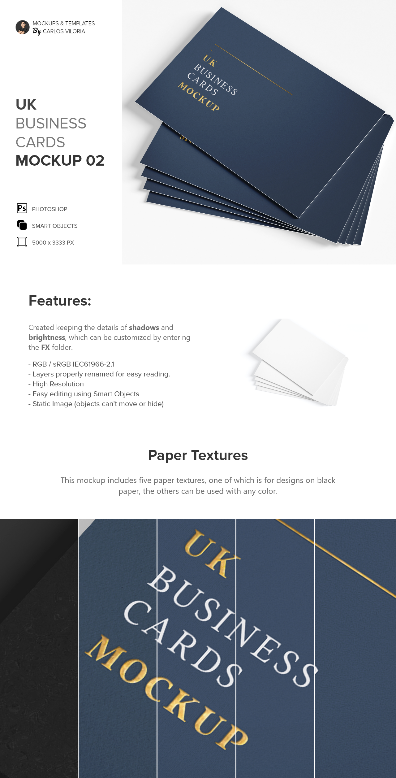 Stack Uk Business Cards Mockup By Carlosviloria Com Business Card Mock Up Business Card Size Mockup
