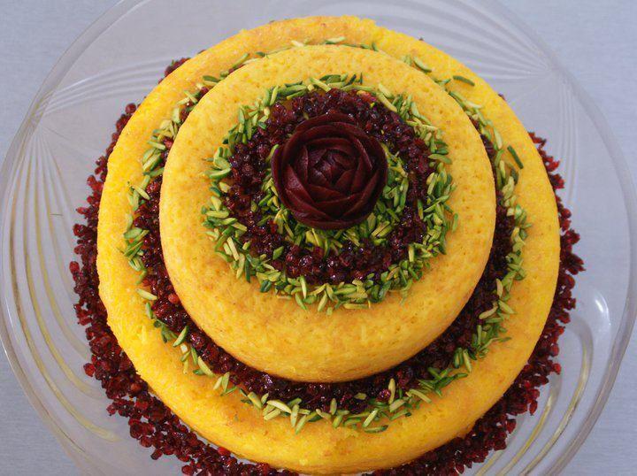 Rice cake Food Pinterest Rice Persian and Cake