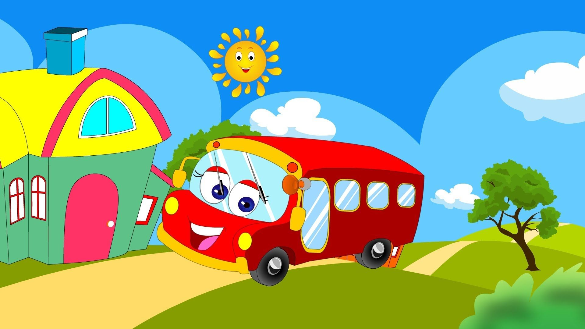 Wheels On The Bus Wheels On The Bus Go Round And Round Nursery