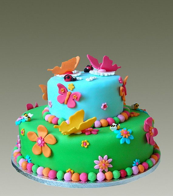Spring Theme Cake Decorating Ideas Con Imagenes Tortas Con