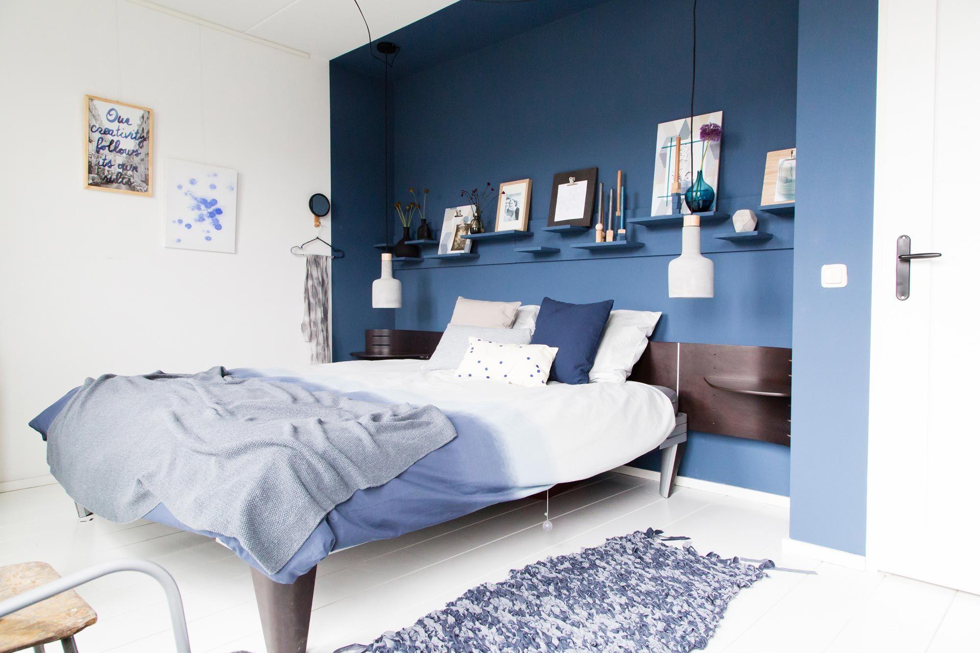 Ook de slaapkamer van Michiel en Elke kreeg een metamorfose in ...
