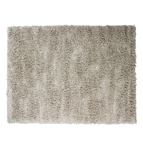 Tapis Taupe Clair A Poils Longs 133x180cm Taupe Clair Jazz Les