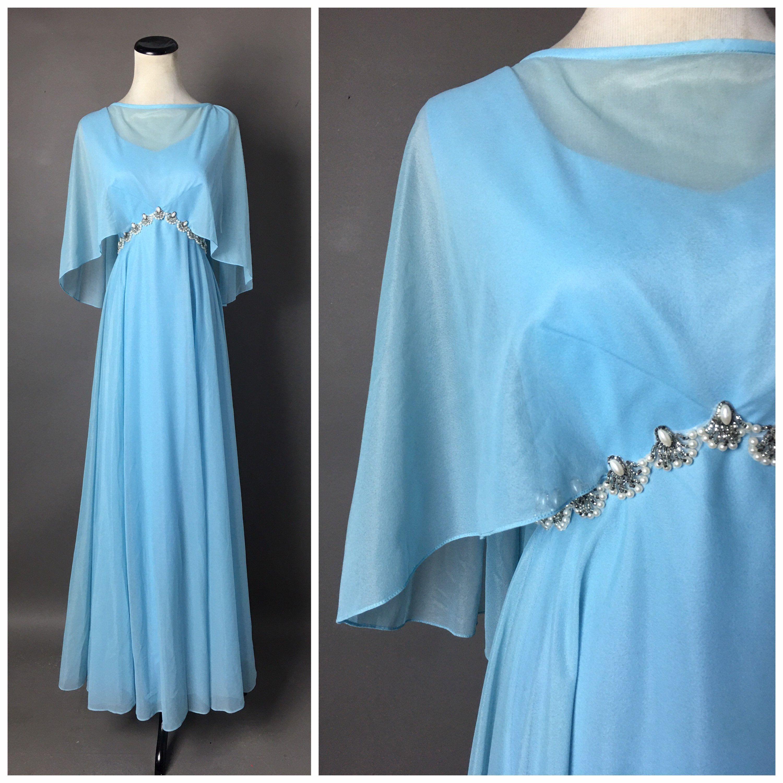 Vintage 70s Dress 1970s Dress Mike Benet 70s Gown Etsy Vintage Dress 70s Hostess Dresses Vintage Formal Dresses [ 3000 x 3000 Pixel ]