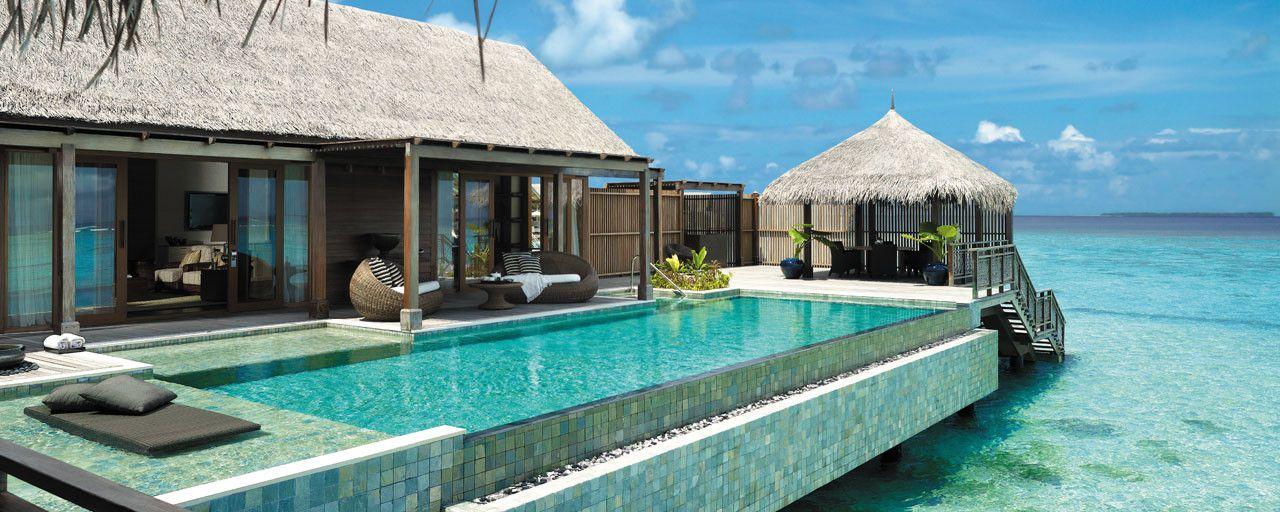 La villa muthee shangri la s villingili resort spa - Maison sur pilotis maldives ...