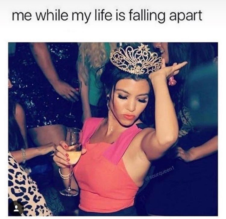 True facts! Kardashian memes, Birthday month quotes, Its