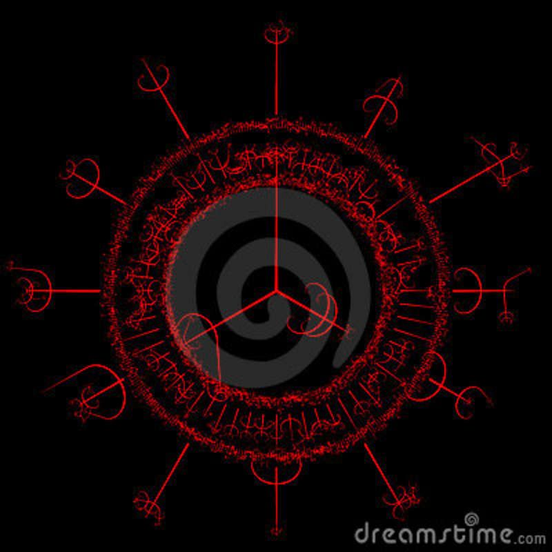 Sorcery Symbols And Spells Witchcraft Stock Photography Image
