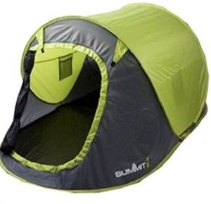 Summit Waterproof 2 Man Pop Up Outdoor Garden Festival C&ing Beach Pitch Tent Listing in the TentsHiking u0026 C&ingSporting Goods Category on eBid United ...  sc 1 st  Pinterest & Summit 571002 Pop-Up Tent for 2 People Green | Camping | Pinterest ...