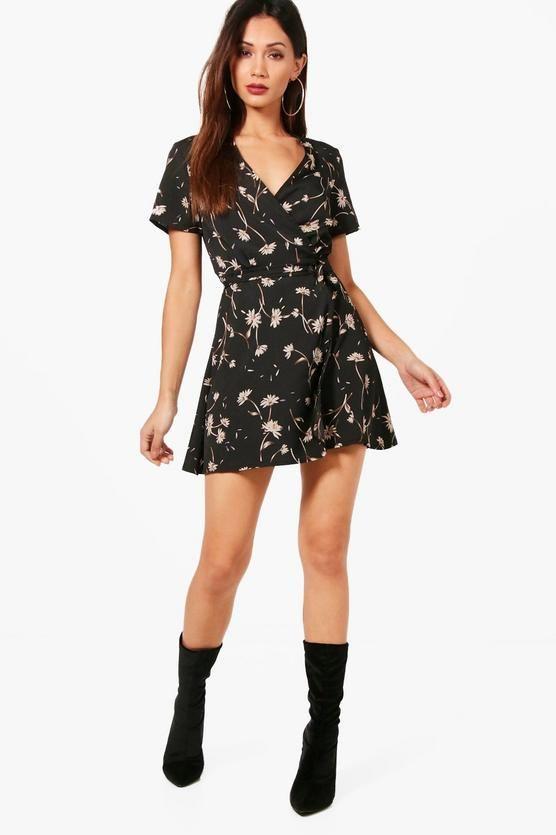 3e4a81d00e5e Petite Ditsy Floral Wrap Dress | shopping - clothing
