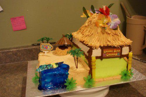 hutte de plage