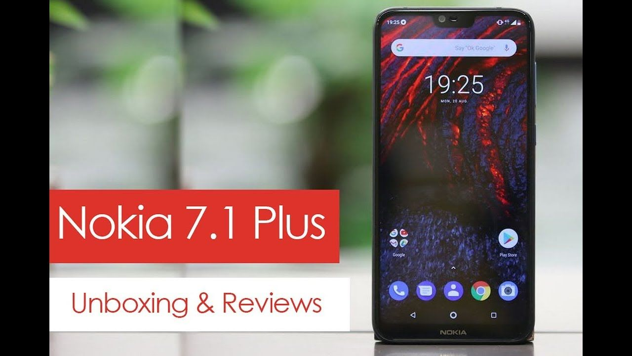 nokia 7 1 unboxing and review in hindi latest mobile uboxing crunky  [ 1280 x 720 Pixel ]