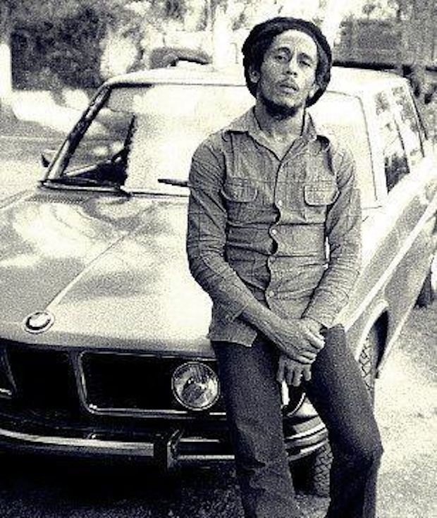 the man Bob Marley with his vintage BMW | COOL PEEPS | Pinterest
