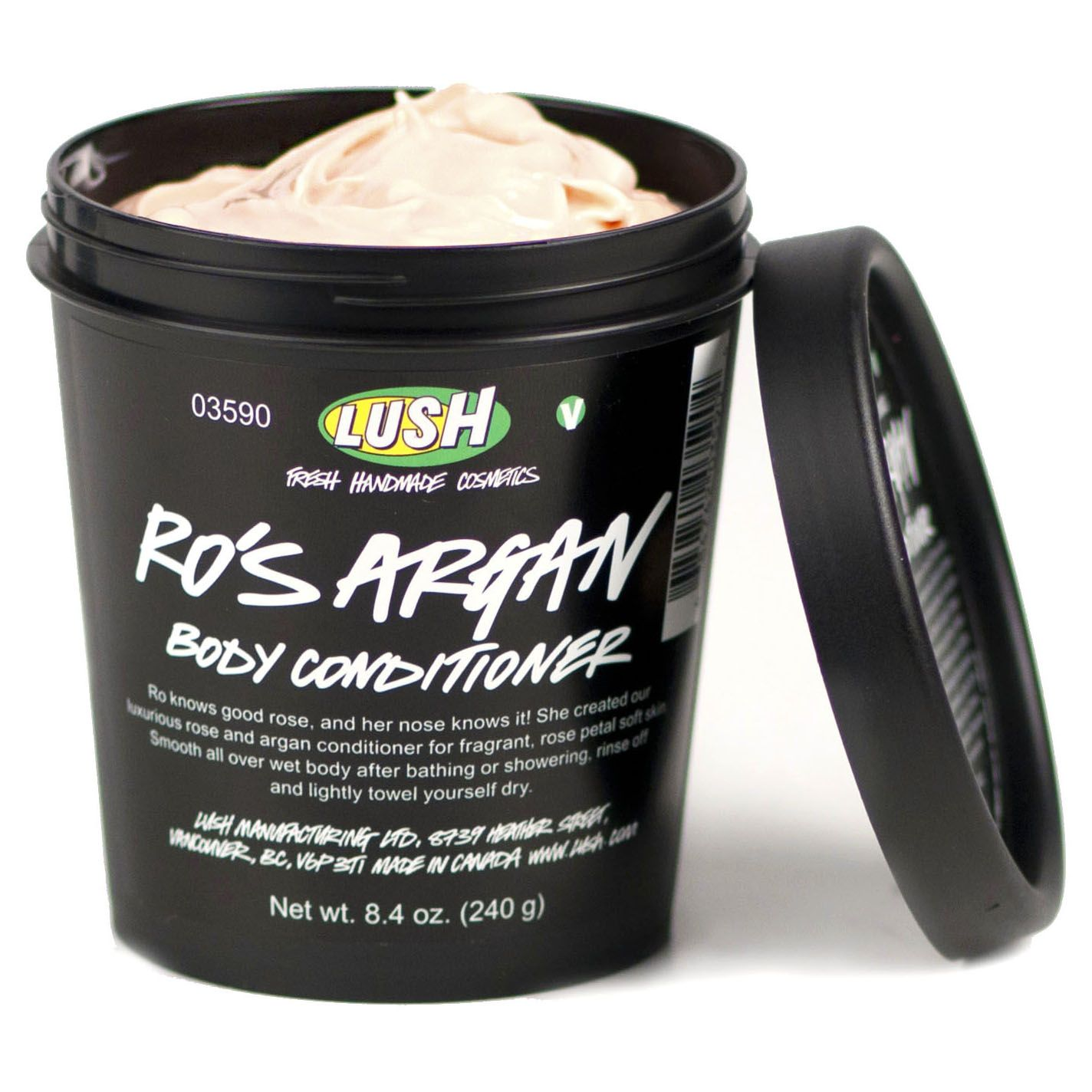 Lush- Ro's Argan Body Conditioner (luxurious rose-scented shower lotion for the softest skin that ever was), $32.95