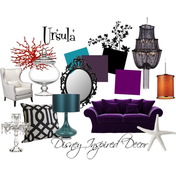 Disney Inspired Decor By Jenbrooks On Polyvore Smallworldbigfun Com