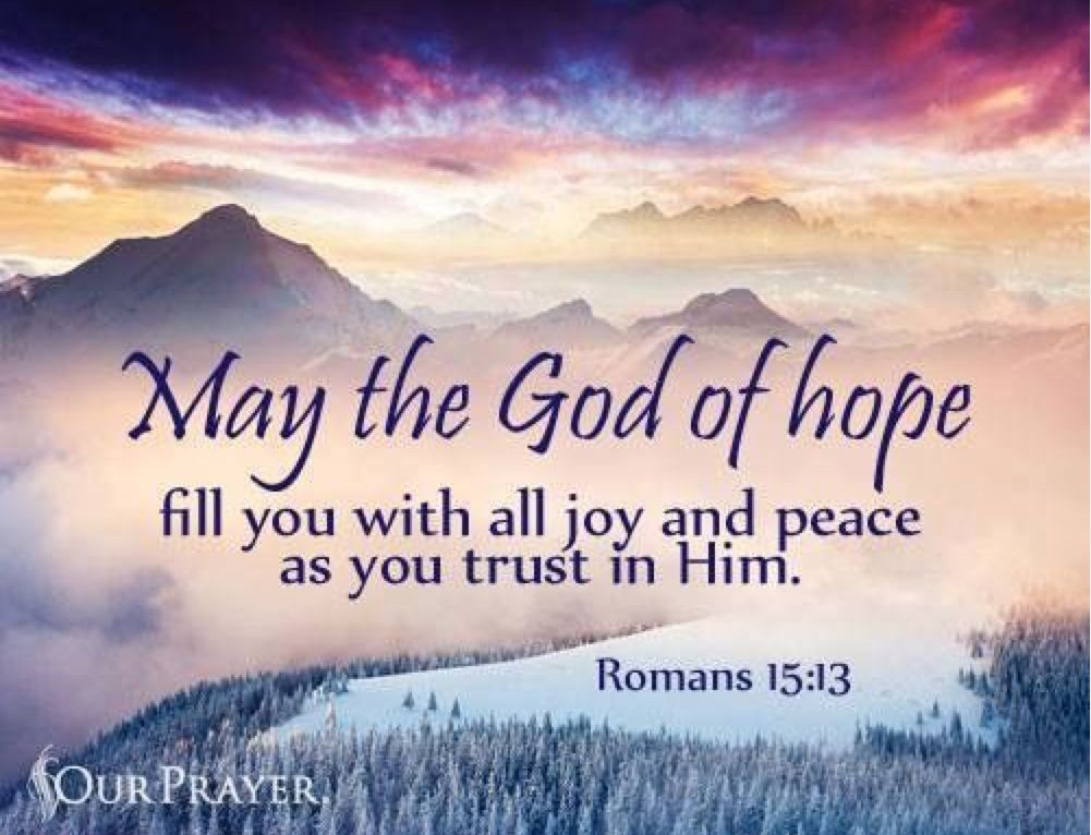 Image result for romans 15 13