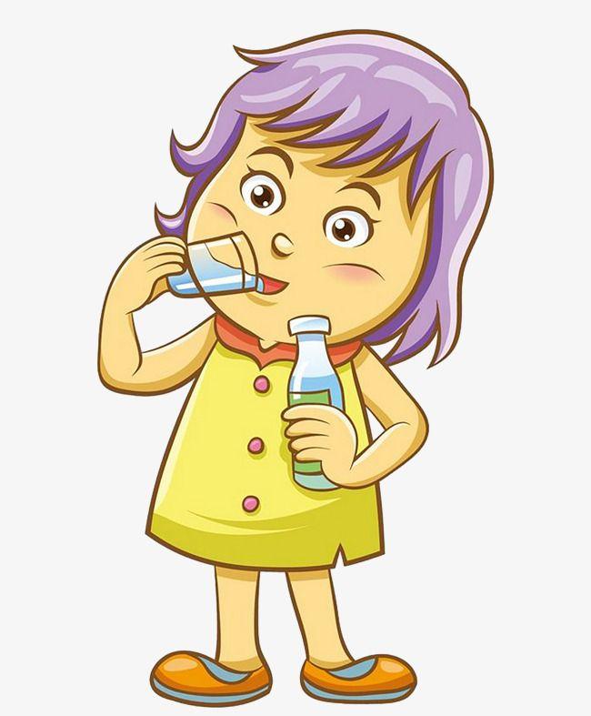 Drinking Water Clip Art