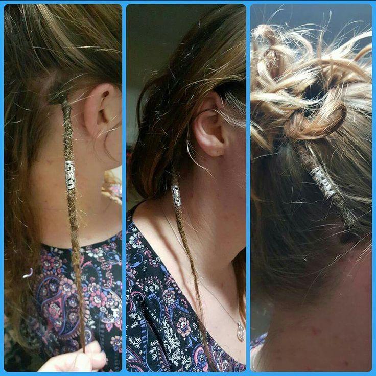 Single dreadlock. Dream dreadlocks … | Hippie hair, Hair