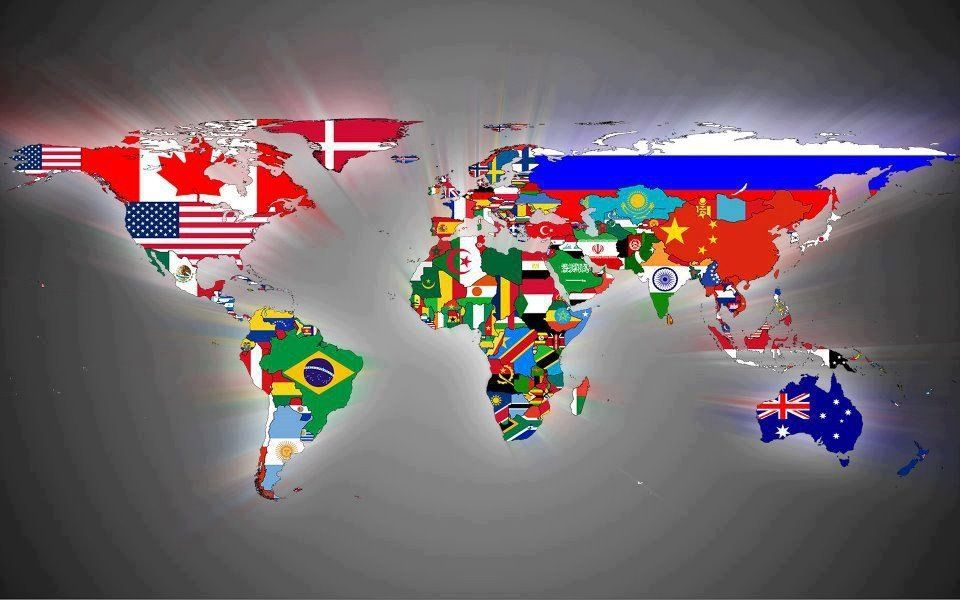 World flag map politics with humor pinterest flags and south world flag map gumiabroncs Images