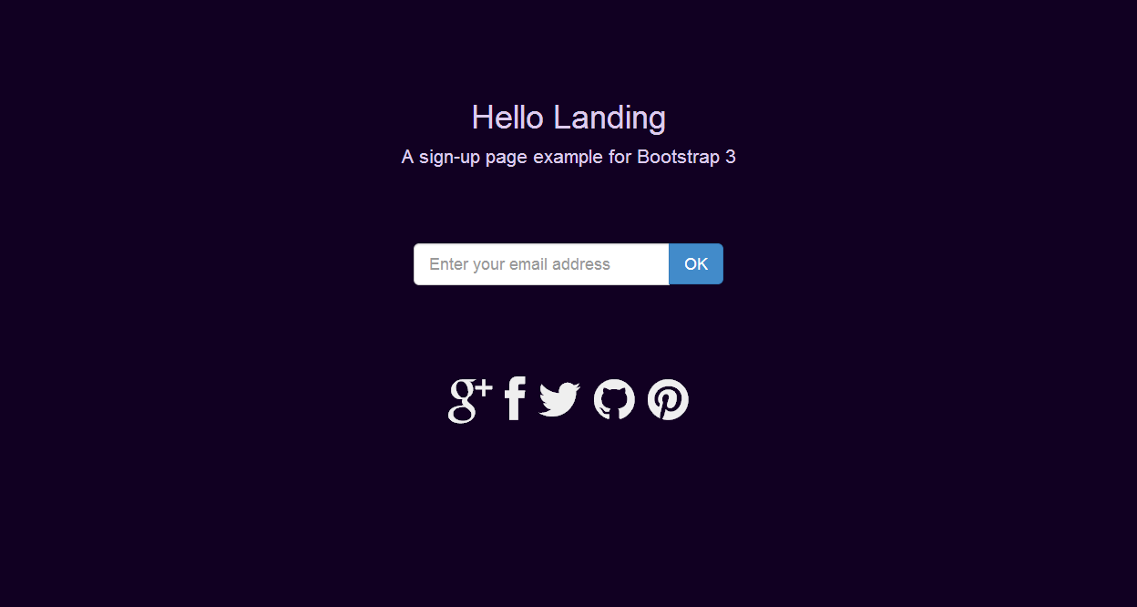 email template bootstrap