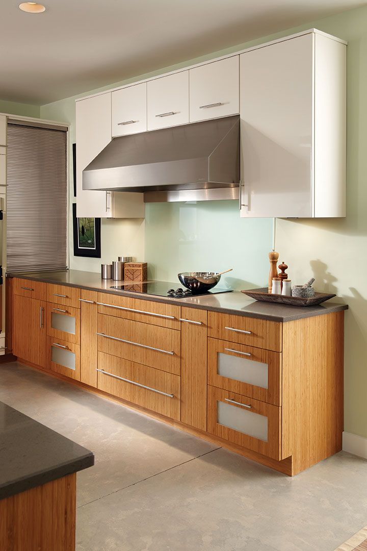 Two tone cabinetry is a growing trend in kitchen design ...