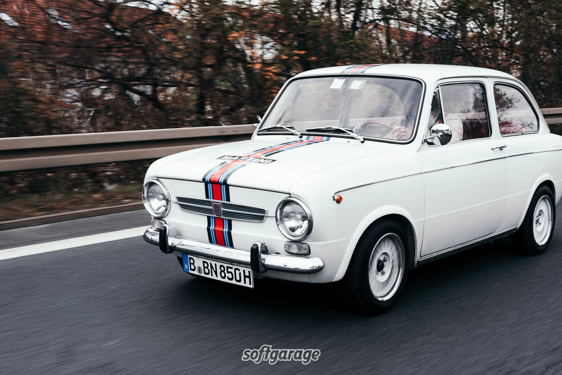 Car Cover Fur Den Fiat 850 Special 1971
