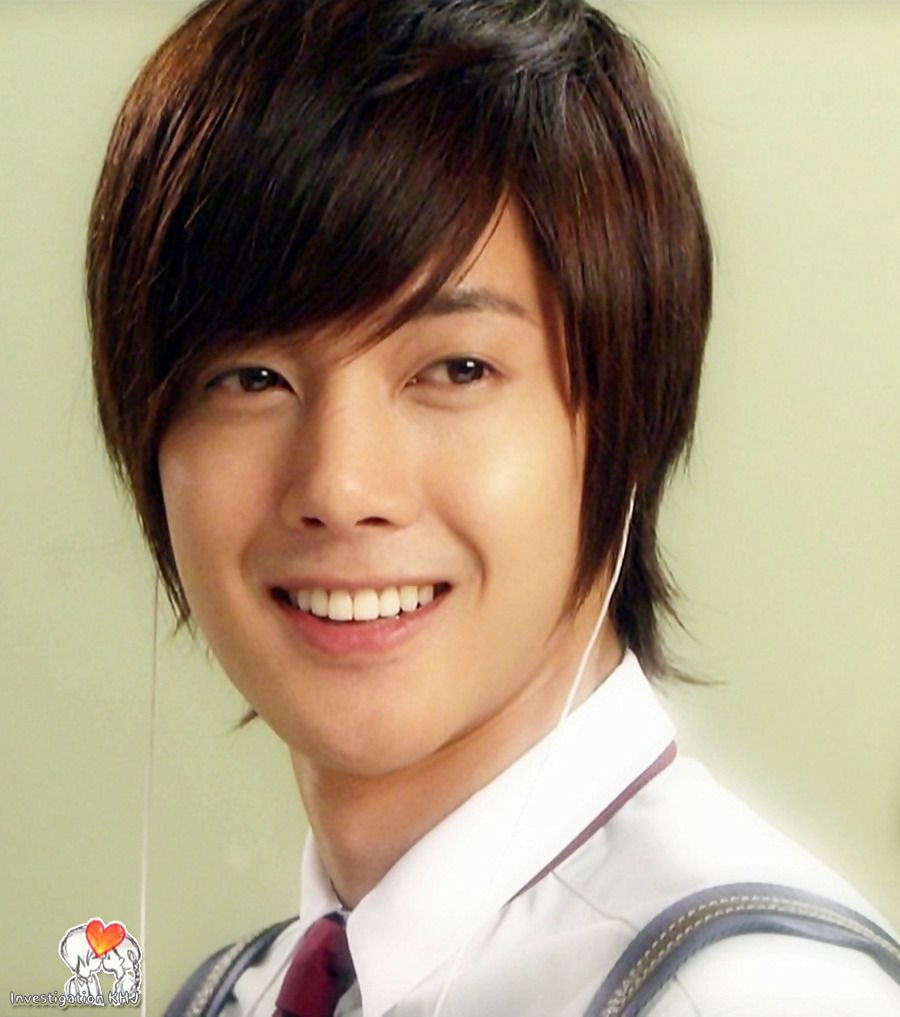 Kim Hyun Joong Korean Boys Over Flowers Playful Kiss Look At