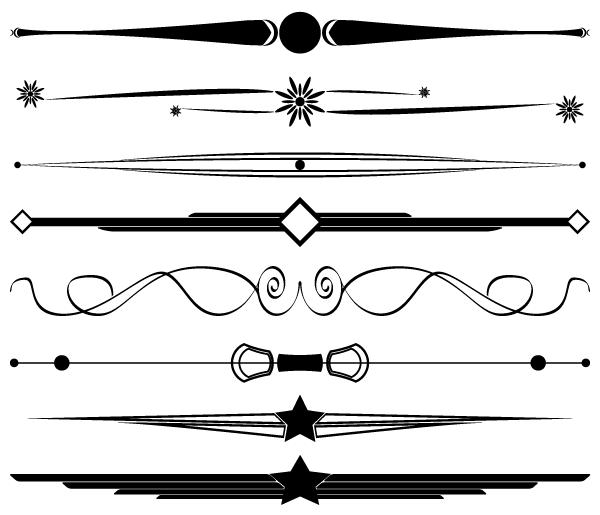 Free Decorative Border Vectors And Dividers Decorative Borders Free Clip Art Graphic Design Printables