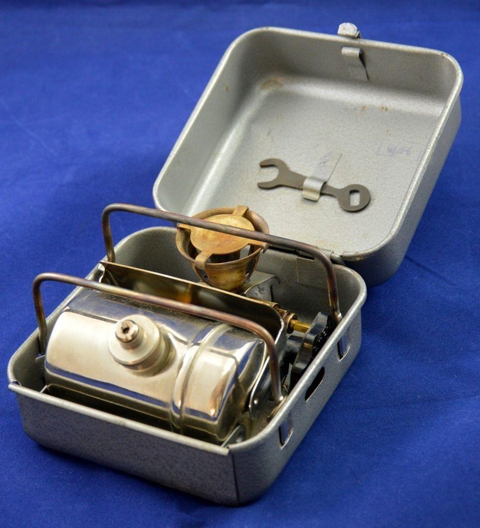Russian red army soviet portable camp stove primus fuel set original