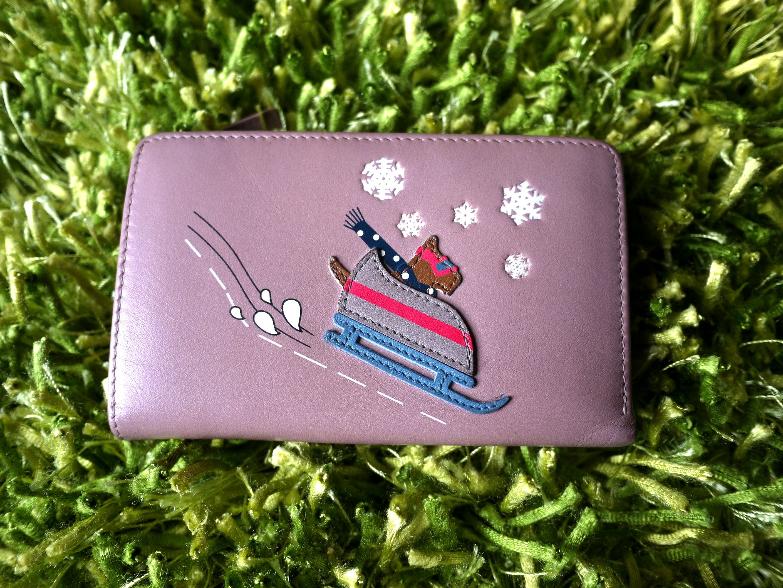 Radley London Pink French Wallet Bobsleigh