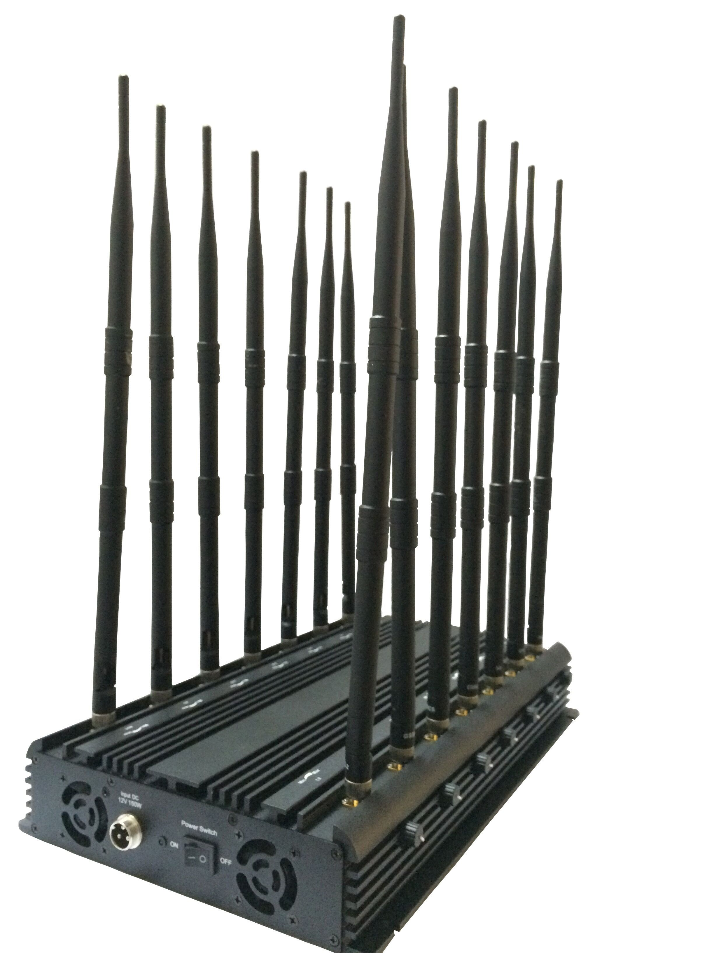 All Bands Powerful Cell Phone Jammer for sale 14 antennas