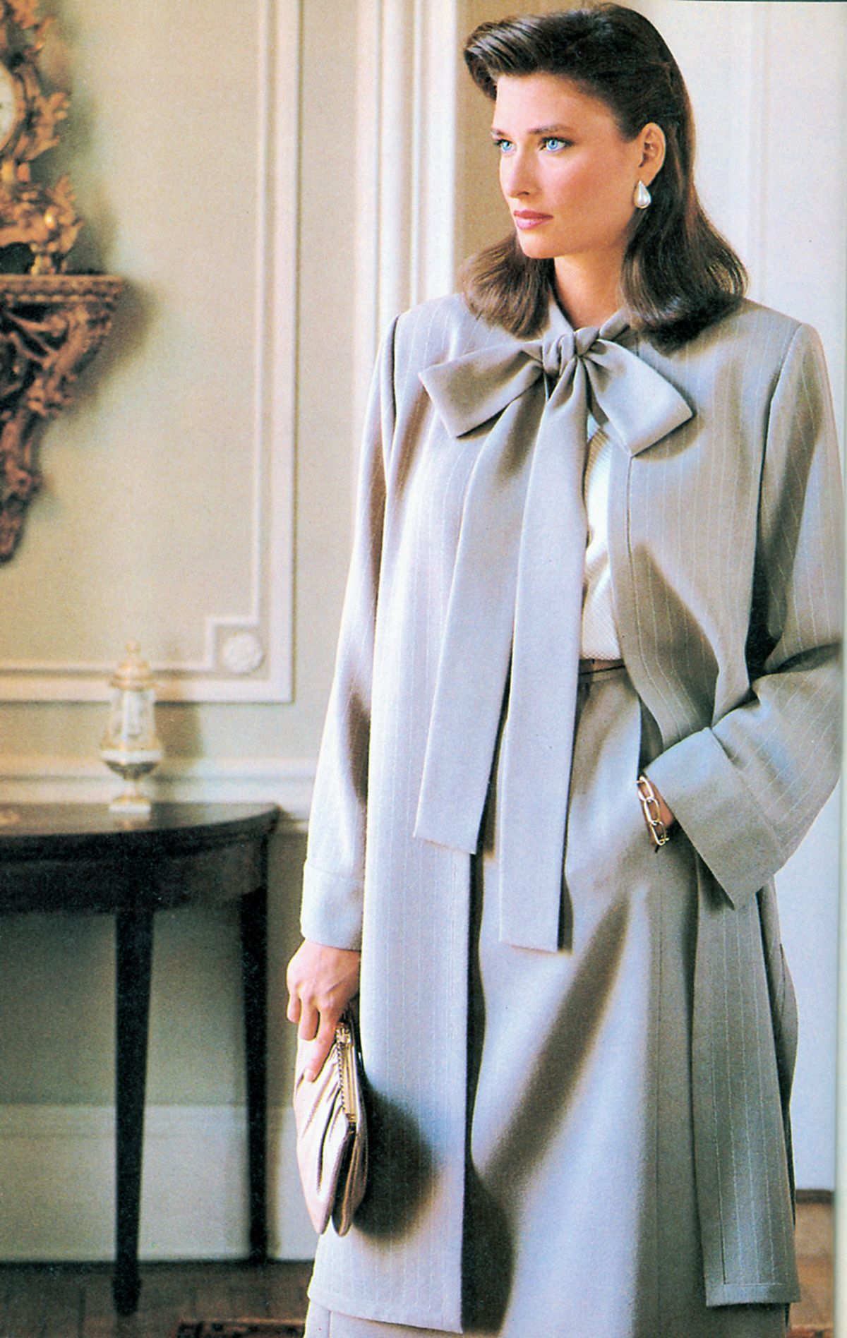 Rosemary Mcgrotha In Vogue Pattern Jul 1982 Rosemary