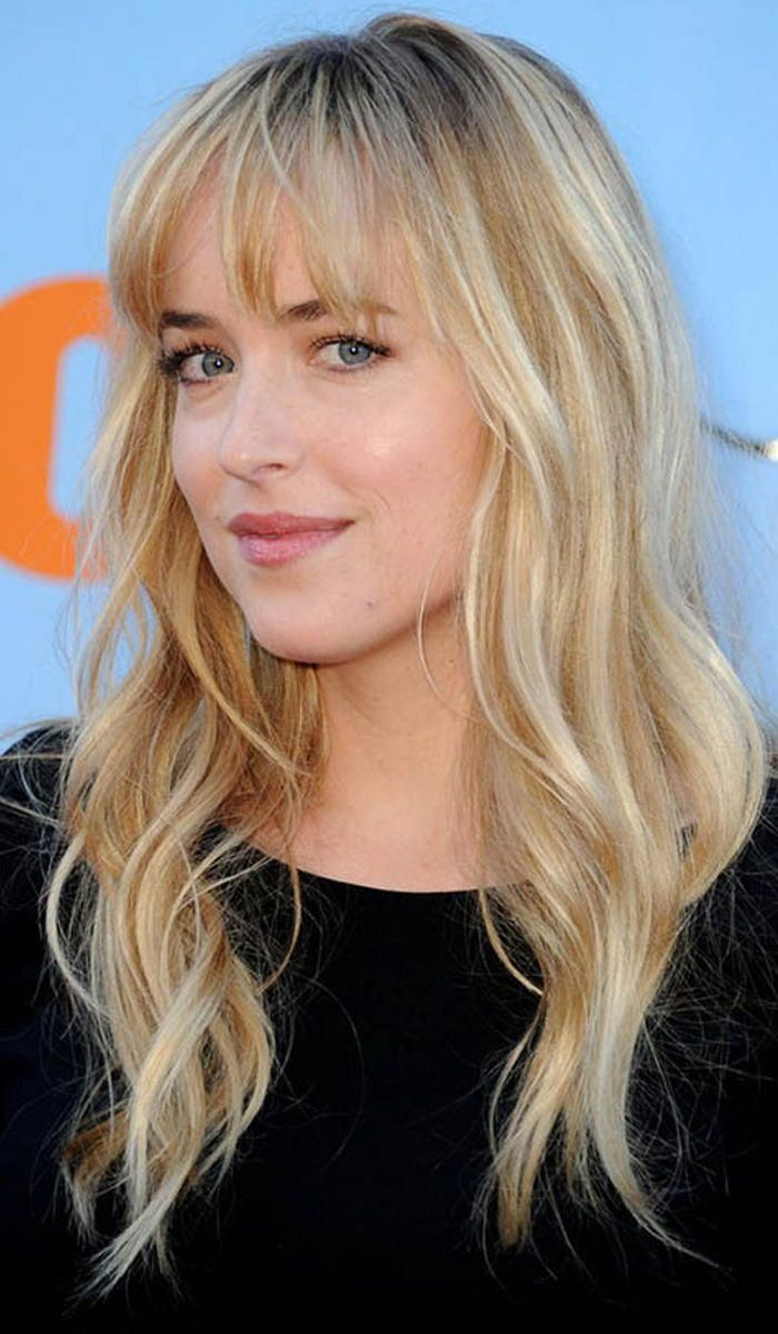 hairstyles for blonde hair with bangs #curlyhairwithbangs