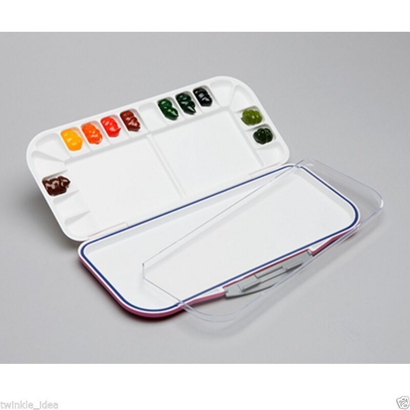 Mijello Fusion Leakproof Airtight Watercolor Palette 18 Well Mwp