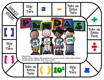 PEMDAS - Order of Operations Game | Game, Order of operations and Of