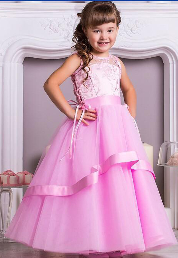 Flower Girl Dresses Bridal Party Dress Junior Bridesmaid Dresses First  Communion Dresses for Little Girl f5fc72d60948