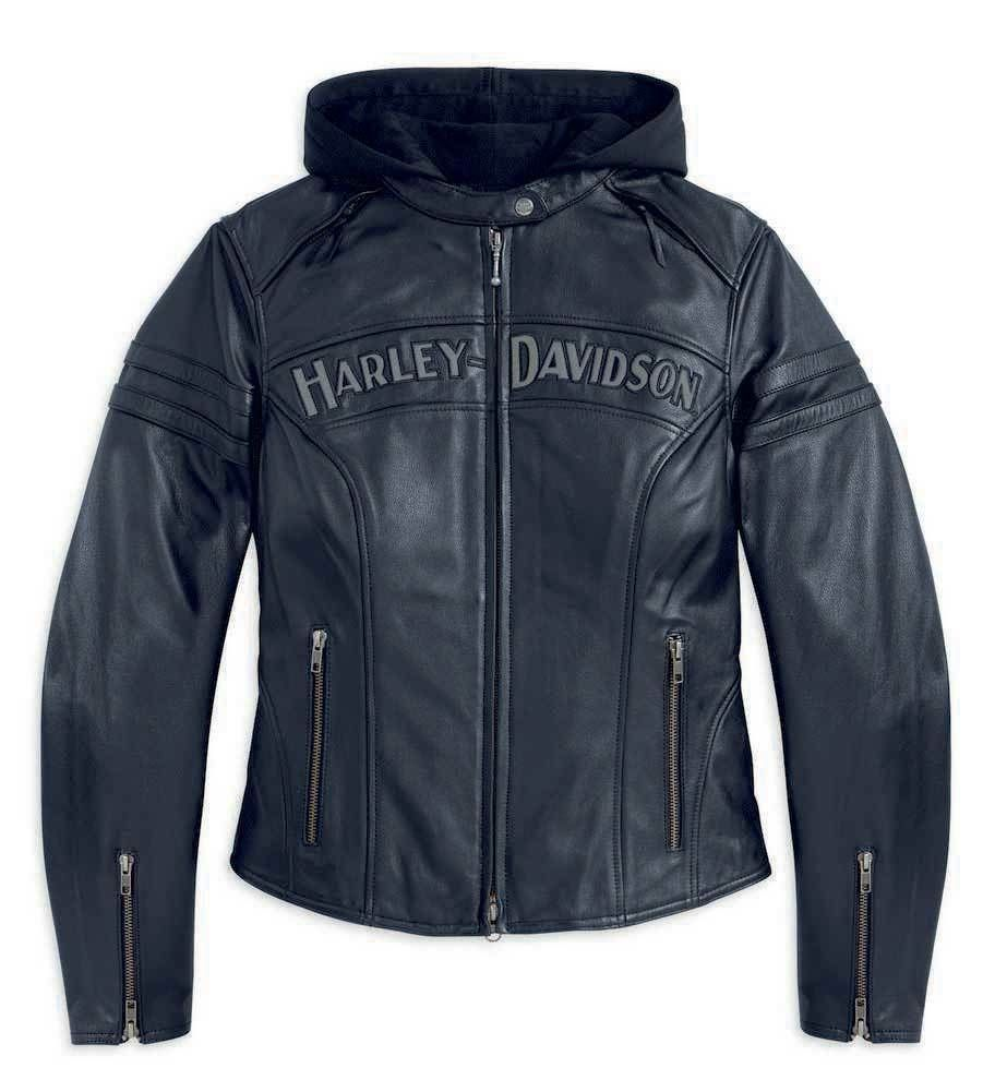 Harley Davidson Women S Miss Enthusiast 3 In 1 Leather Jacket 98030 12vw Harley Davidson Leather Jackets Leather Jacket Harley Davidson Women [ 1001 x 923 Pixel ]
